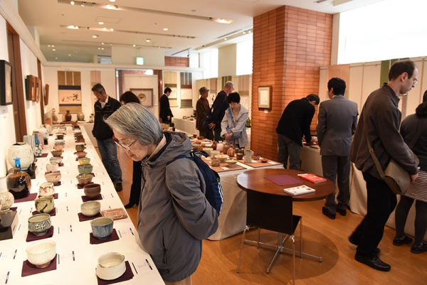 View of gallery at Tokyo Art Antiques 2016