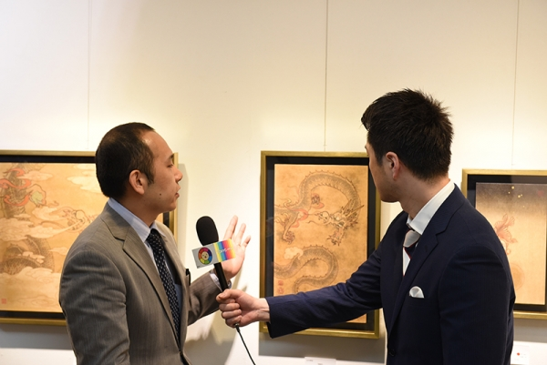 Gallery Seek interviewed by Tokyo Mx News