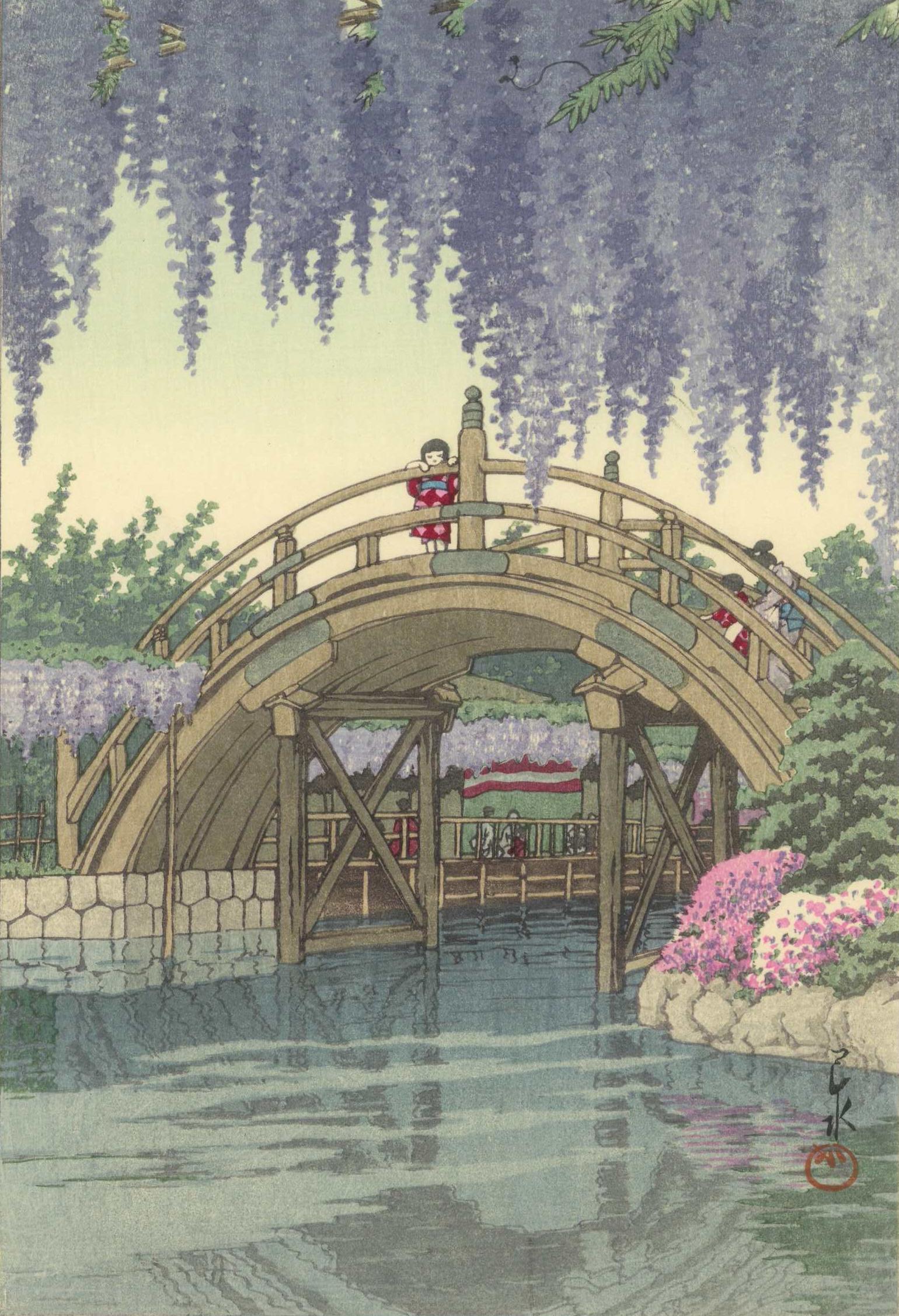 水 川瀬 巴 特別展「川瀬巴水-版画で旅する日本の風景-」のご案内 大田区
