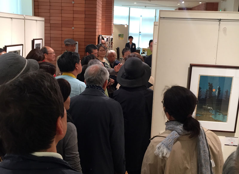 Gallery talk at Maruzen Nihonbashi 3F Gallery