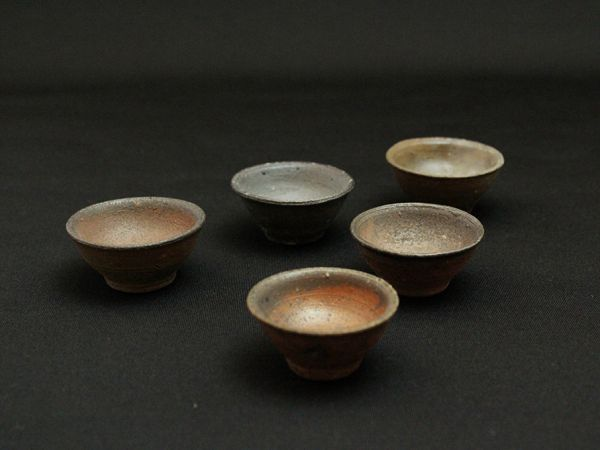 The evolution of Makoto IshidaⅡ,the recent sake vessels by MAKOTO