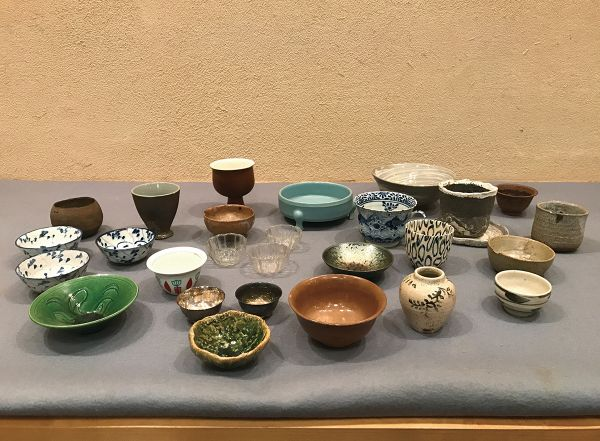 Charity Auction: Sake cups etc