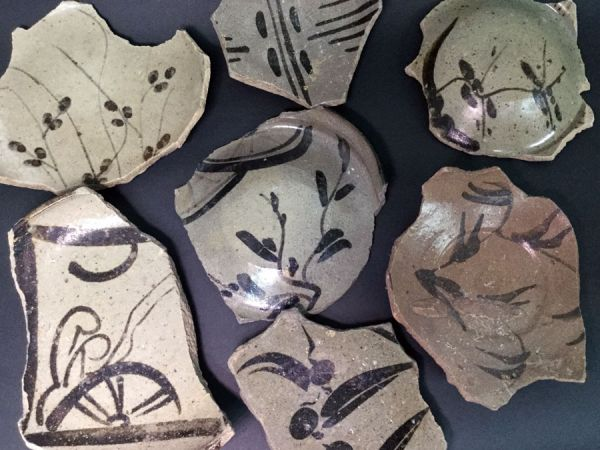 Pottery fragments: Charity Auction
