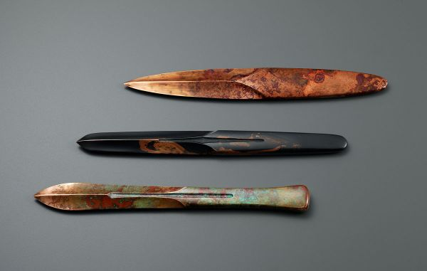 Koji Hatakeyama The Sacred forms: The bronze paper knives, again