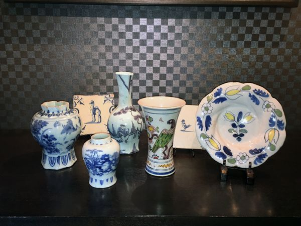 Pottery of Holland and China