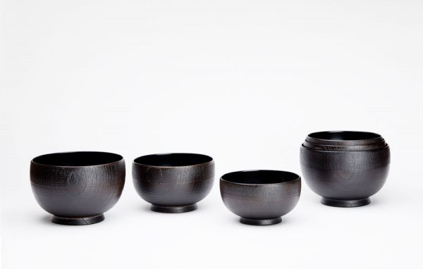 Urushi (lacquar) Coated Wooden Bowl That Reached the Summit Murose Kazumi + The Mejiro Urushi Studio