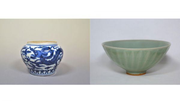 Blue and Blue -Celadon and blue and white of Ming and Qing-