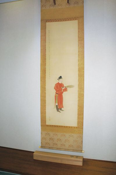 The dressing of Japanese paintings