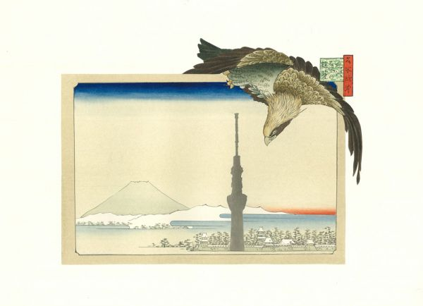 Hidetaka, FURUKAWA exhibition 'Walking to search Tokyo for the lost Edo'