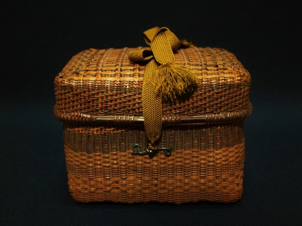 Saito Shikodo's Exhibit -Tea ceremony baskets-