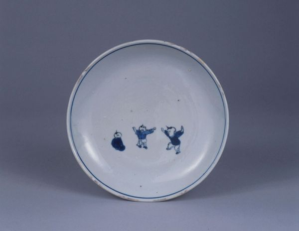 Kosometsuke and Hokusai manga -- Blue and white dishes in Late Ming dynasty, Wood-block prints from Hokusai sketches --